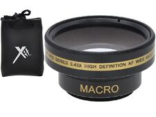 Pro HD Wide Angle With Macro Lens For Sony DCR-SX33E DCR-SX34E