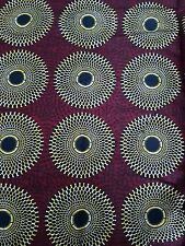 New african wax print fabric ankara superbe bright bold colors vendus par yard