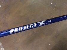 NEW Project X Graphite Iron Shafts 6.0 Stiff Flex .355 Tapered Tip (8 pc)