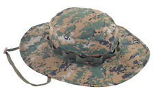 TRU-SPEC 3348 Woodland Digital Camo Waterproof Boonie Hat - One Size Fits Most
