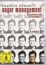 3 DVDs *  ANGER MANAGEMENT - STAFFEL 2 - Charlie Sheen  # NEU OVP $