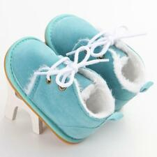 Toddler Infant Baby kids Boy Snow Boots Winter Warm Shoes Size 0-18 Months^SB 12