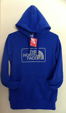 The North Face Womens Shenan Hoodie Pullover Sweatshirt Medium-Marker Blue
