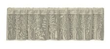 Heritage Lace Cafe RABBIT HOLLOW Window Valance - Flowers, Fauna, Birds