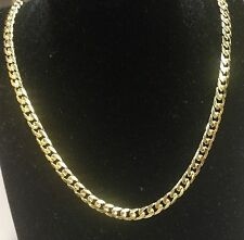 "10KT Solid Gold Miami Cuban Curb Link 26"" 5 mm 30 grams chain/Necklace MC150"