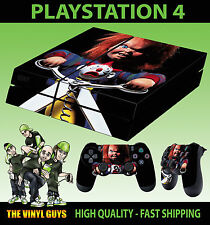 PS4 Skin Childs Play Chucky Doll Horror Evil Sticker + 2 X Pad decal Vinyl LAY