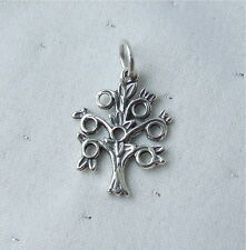 TREE OF KNOWLEDGE LIFE FAMILY CHARM 925 STERLING SILVER