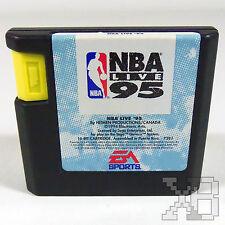 NBA Live 95 (Sega Genesis) Cleaned & Tested