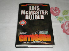 Cryoburn by Lois McMaster Bujold  **SIGNED**