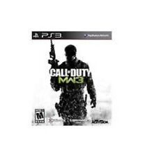 Call Of Duty Modern Warfare 3 GAME Sony Playstation 3 PS PS3 COD MW3