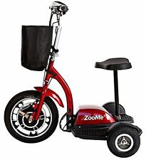 NEW ZooMe 3 Three Wheel Recreational Power Scooter Mobility ZOOME3 Drive Medical