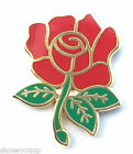 England Red Rose Quality Enamel Lapel Pin Badge - Rugby, Football, Patriotic