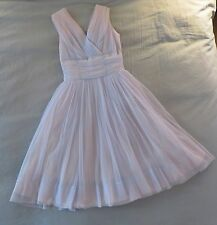 Vintage 1950's Pale Ice Blue Nylon Prom/Party Dress