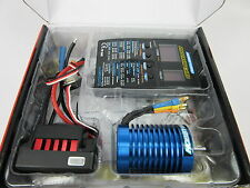 HOBBYWING Quicrun 9T 4300KV RC Model Brushless Motor & WP60 60A ESC Combo 1/10