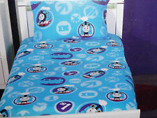 THOMAS & FRIENDS DOUBLE BED FITTED SHEET & PILLOWCASE SET BNIP THE TANK ENGINE