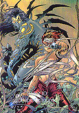 Comic Greats '98 - Omnichrome Chase Card 2 - Pain Killer Jane/The Darkness