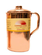 Copper Lane Handmade-Pure-Copper-Jug-Pitcher-With indian Ayurveda