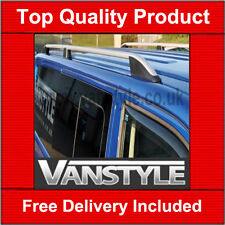 VW VOLKSWAGEN T5 TRANSPORTER SWB ALUMINIUM ROOF RAILS ROOF BAR SIDE BAR NO DRILL