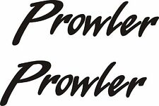 2 Fleetwood Prowler decal sticker rv camper stickers trailer decals prowler USA