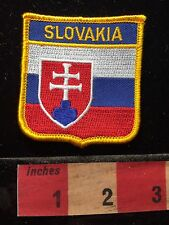 Country Of SLOVAKIA Flag Themed Patch Slovak Coat Of Arms 60CC