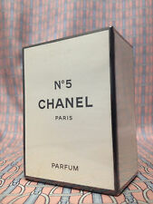 Vintage early 1980s Chanel No 5 Pure Parfum 1/4 oz 7 ml SEALED Box OLD FORMULA