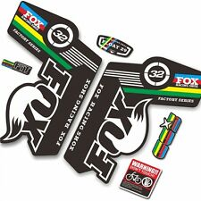 NEW F 32 FLOAT Forks Decals Set Stickers Graphics Fox Racing MTB DH Race Dirt