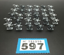 GAMES WORKSHOP WARHAMMER 40,000 EPIC CHAOS SPACE MARINES DAEMONS MINOTAURS  X 29