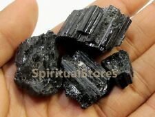 Small Pieces of Black Tourmaline Rough Stone (1KG approx)