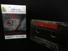 OBITUARY CAUSE OF DEATH MC, CASSETTE