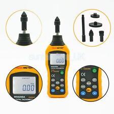 PEAKMETER MS6208A Contact Digital Tachometer Speedometer 50~99999RPM Meter