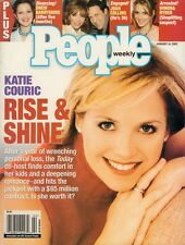 JOAN COLLINS - KATIE COURIC - US Magazine PEOPLE WEEKLY dated March 2002 C#40