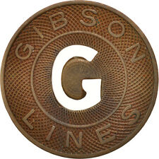 [#410819] United States, Token, Gibson Lines