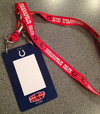 GO PEYTON SUPER BOWL 44 XLIV NFL COLTS Player TEAM Issued Lanyard & Credential