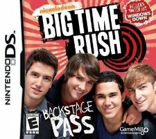 New Nickelodeon Big Time Rush Backstage Pass Nintendo DS Game Sealed