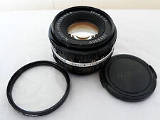 Nikon 50mm F1.8 Manual RARE BLACK Ais E Lens 50/1.8 Nikkor Ai-s+SHARP+FAST++NICE