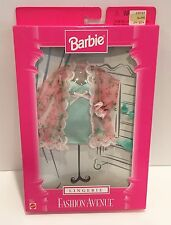 Barbie Fashion Avenue LINGERIE Nightie Clothes Clothing Doll 1998