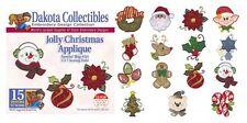 Dakota Collectibles 970386 Jolly Christmas Applique Embroidery Designs CD