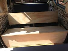 vw volkswagon t25 - t3 camper van bus ( wedge ) full width rock and roll bed