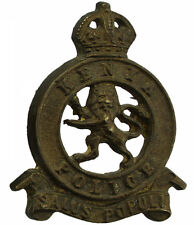 Original Kenyan British Colonial Police Force Kenya Empire Cap Badge - TA73
