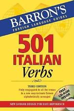 501 Italian Verbs: with CD-ROM (501 Verbs Series) (Italian and English Edition),