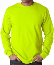 Big Men's Gildan Long Sleeve Tee Shirt Size 3XL 4XL 5XL Cotton T-Shirt