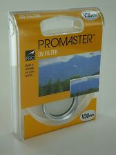 Promaster UV Ultra Violet Filter V 30mm Silver