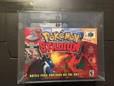 Pokemon Stadium 2 (Nintendo 64, 1999) Graded VGA 80+ SILVER