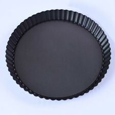 """Non Stick 8"""" Pie Cake Tart Pan- With Removable Bottom Baking Pastry Mold"""