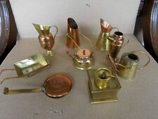 Copper & Brass Dollhouse Miniature Accessories (9) Made In Japan