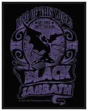 BLACK SABBATH - Patch Aufnäher - Lord of this world 8x10cm