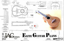 Project Plan/Drawing to build this Ukulele guitar  Ideal Gift