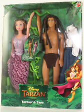 Mattel - Barbie Doll - Disney Tarzan & Jane Barbie Set *NM Box*
