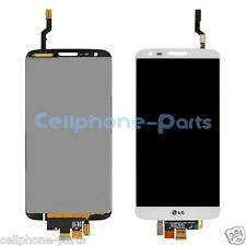 LG G2 D802 D805 LCD Screen Display with Digitizer Touch Panel, White, LG Logo