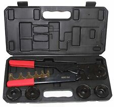 "Pex Crimping Crimper Tool Kit 3/8"", 1/2"", 5/8"", 3/4"", 1 for PEX tubing"